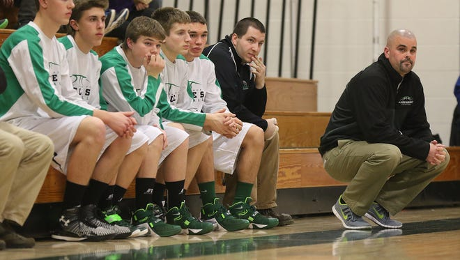 Almond-Bancroft boys basketball coach Curt Lamb has led the Eagles to a No. 10 ranking in Division 5 according to the Associated Press and a 19-2 overall record. A-B has won 15 straight games through Feb. 19.