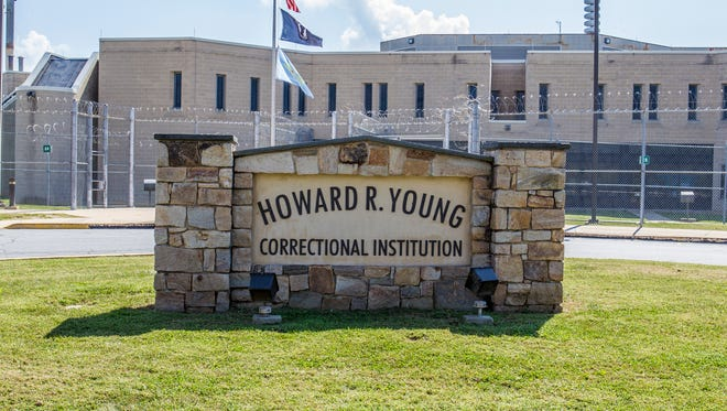 Since Tuesday, six inmates at the Howard R. Young Correctional Institution near Wilmington have fallen ill and 40 others are being monitored closely for any symptoms, health officials say.