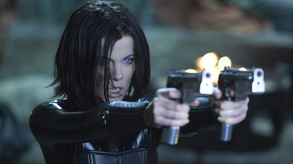 Kate Beckinsale appears in a scene from the action-horror