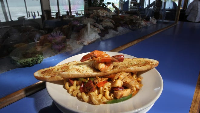 Sweeping views of the gulf combined with a menu focused on fresh seafood make Fresh Catch Bistro a beloved waterfront dining spot on Fort Myers Beach.