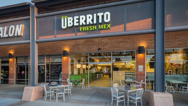 The Texas-based chain Uberrito Fresh Mex opened it's first Arizona location in Scottsdale. Uberrito fits perfectly in the fast-casual, build-your-own dining trend.