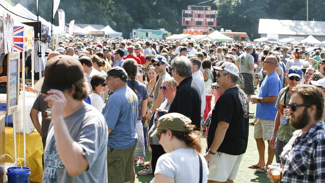 Tickets are going on sale for Asheville's big Brewgrass beer festival, one of the largest area events of its kind. It will be held Sept. 17 at Asheville's Memorial Stadium.