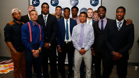 "Xavier's men's basketball team won ""Team of the Year"""