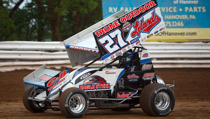 Sprint car driver Greg Hodnett dies in crash at speedway in York County