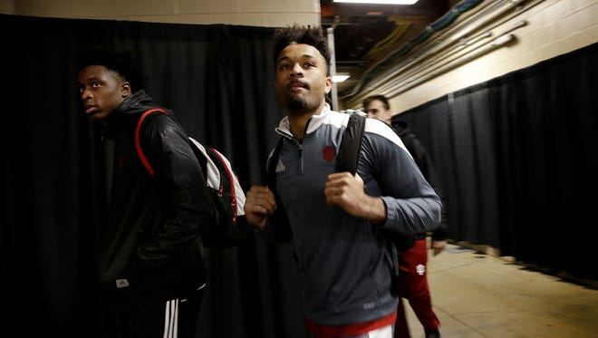 IU guard James Blackmon is returning to school for his junior season.