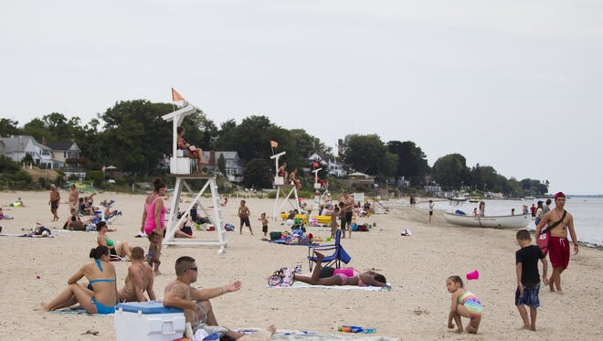 Ontario Beach Park is located at 4650 Lake Ave. in Rochester.