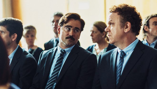 """Colin Farrell and John C. Reilly in the wonderfully weird """"The Lobster."""""""
