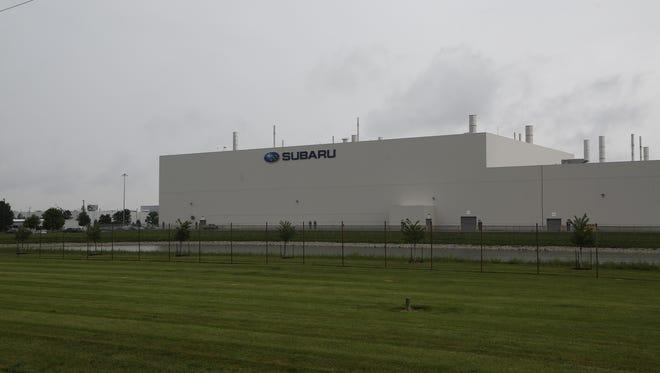 Subaru of Indiana Automotive Inc. Thursday, May 26, 2016, in Lafayette.