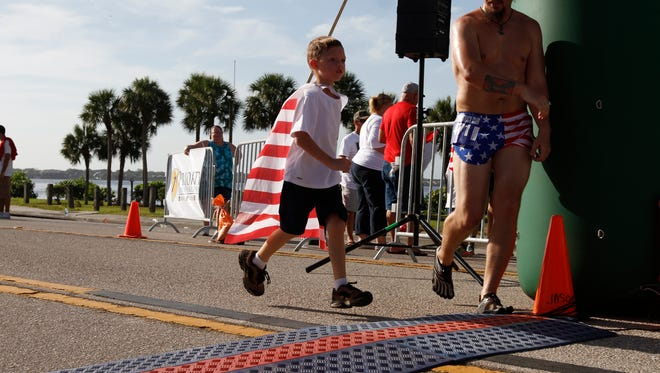 The Cape Coral Red, White & Boom celebration features a morning kids run.
