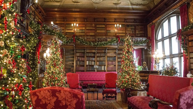 Biltmore Estate is decked out for the holidays, starting Nov. 4.