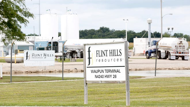 The Flint Hills Resources terminal in Waupun will double its capacity by fall.