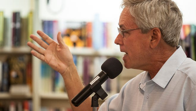 Carl Hiaasen will visit the Vero Beach Book Center at 3 p.m. Sept. 18.