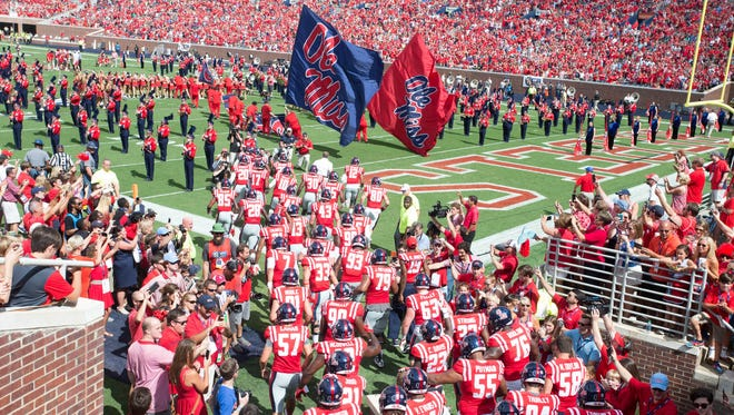 Ole Miss faced Florida State, which is No. 2 in the country, in the opening week, and hosts No. 1 Alabama on Saturday.