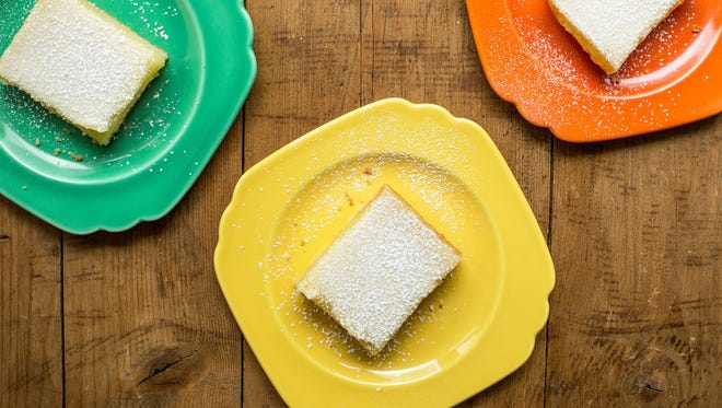 Llemon bars in New York. This dish is from a recipe by Katie Workman.