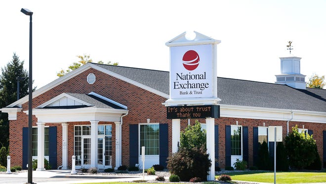 National Exchange Bank at 676 West Johnson Street in Fond du Lac.