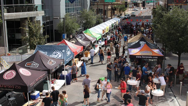 Bites 'N Brews Craft Beer Festival will move locations this year and will take place Saturday, Oct. 1 at the Peoria Sports Complex in Peoria.