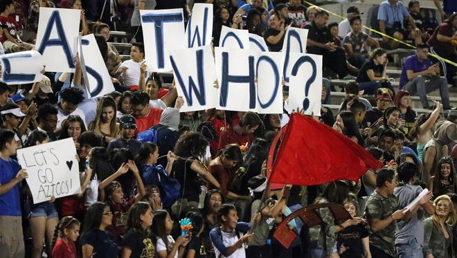 El Dorado fans Thursday night.
