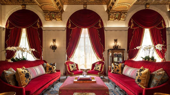 The St. Regis Washington D.C. recently renovated its