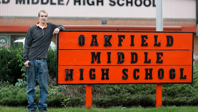 Thomas Schulz may be the youngest school board member in the state at 18-years-old, having been elected to the Oakfield Board of Education last April.