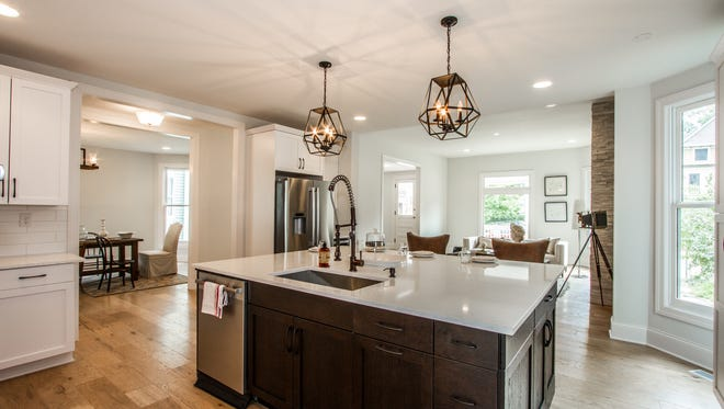 Inside 1616 N. Delaware St., a 6,564 square-foot Hot Property listed for $749,000.