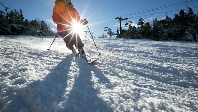 Enjoy 2,000 acres of ski-able terrain at Killington Resort.