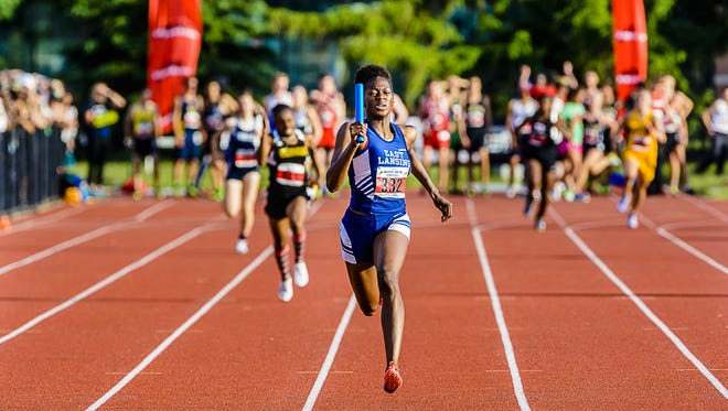 East Lansing's Taylor Manson announced her decision to continue her track career at Florida on Monday.