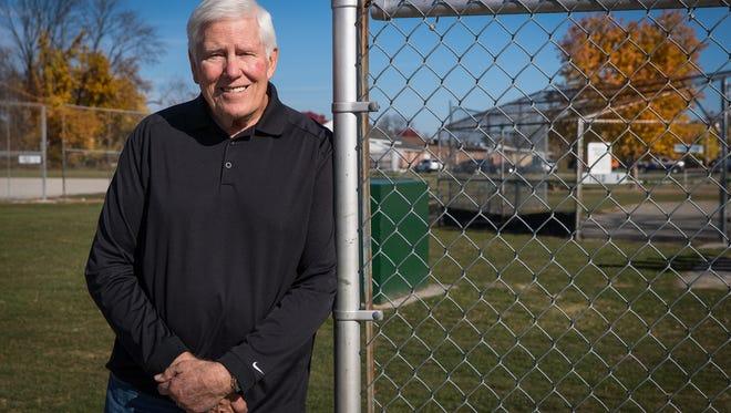 Carroll Granger of Hanover has run Morning League Instructional Baseball for children in Hanover for the past 43 years. Granger calls his efforts a 'labor of love.'