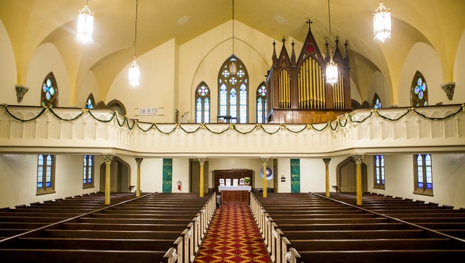 Prince of Peace Lutheran Church on Race Street is more than 100 years old and has recently been restored. The church will be featured on the third annual OTR Holiday Home Tour Saturday, December 10, 2016.