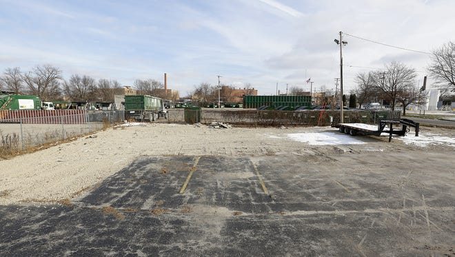 An empty lot now sits where the Wayside Bar once stood. The bar was destroyed by fire on Feb. 24. Owner Bob Moses plans to build at a new location in Fond du Lac.