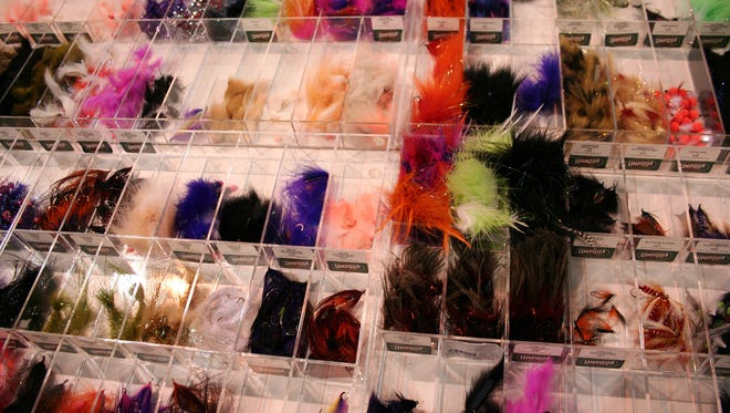 Fishing flies are just one of the fun things to check out at the Garden State Outdoor Sports Show.