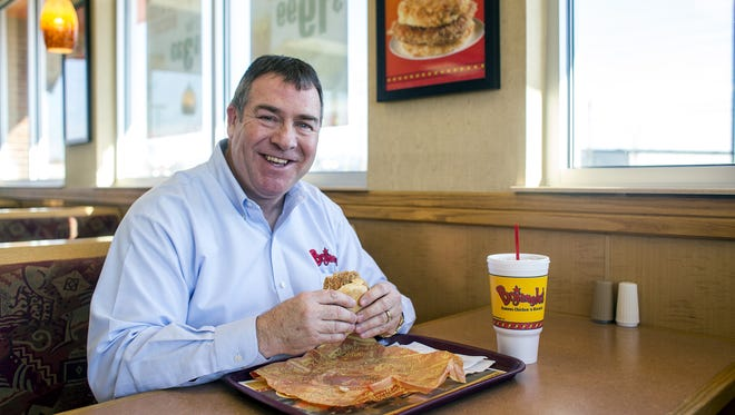 Jeff Rigsby, Bojangles franchisee in the Asheville area.