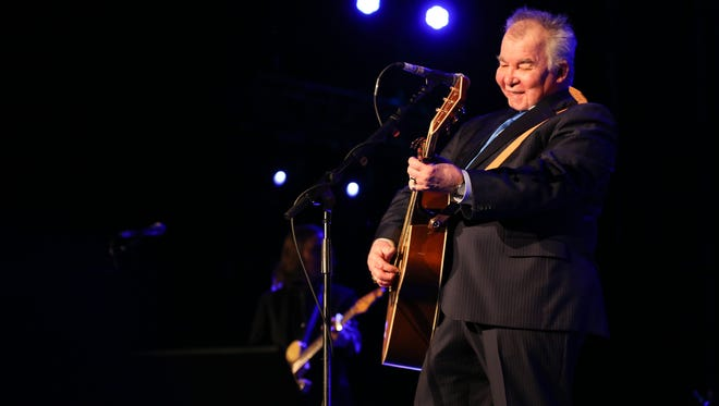 Artist John Prine performs at the Opry House on New Year's Eve.