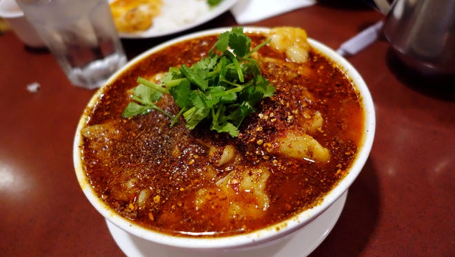 Water-boild fish at Szechwan Palace. The longtime anchor restaurant at the Chinese Cultural Center was a go-to destination for some of the Valley's best Sichuan cuisine.
