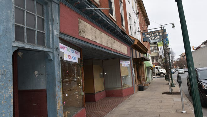 The building at 115-117 South Main Street has been vacant for nearly a decade and has been condemned by the Borough of Chambersburg.