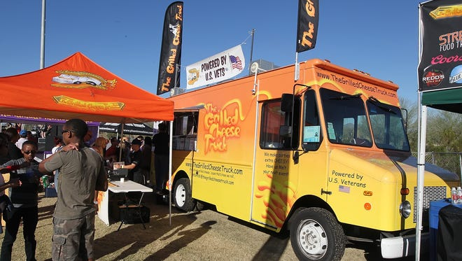 Over 70 local and out-of-state food trucks take part in the Street Eats Food Truck Festival.