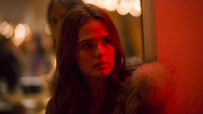 """In """"Before I Fall,"""" Zoey Deutch plays a popular girl named Sam who can't escape reliving the same dark day over and over again."""