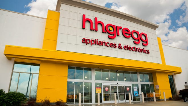 An Hhgregg location in Louisiana. The electronics retailer will be closing 88 stores in the state, including its sole location in York.