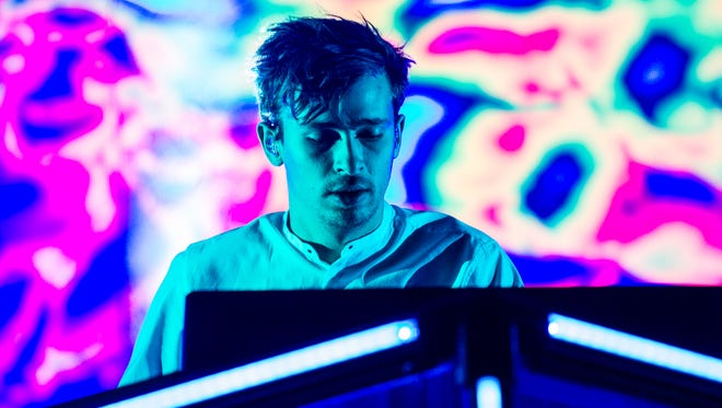 Flume, AKA 25-year-old DJ, musician and producer Harley Edward Streten, headlines the McDowell Mountain Music Festival on March 4, 2017.
