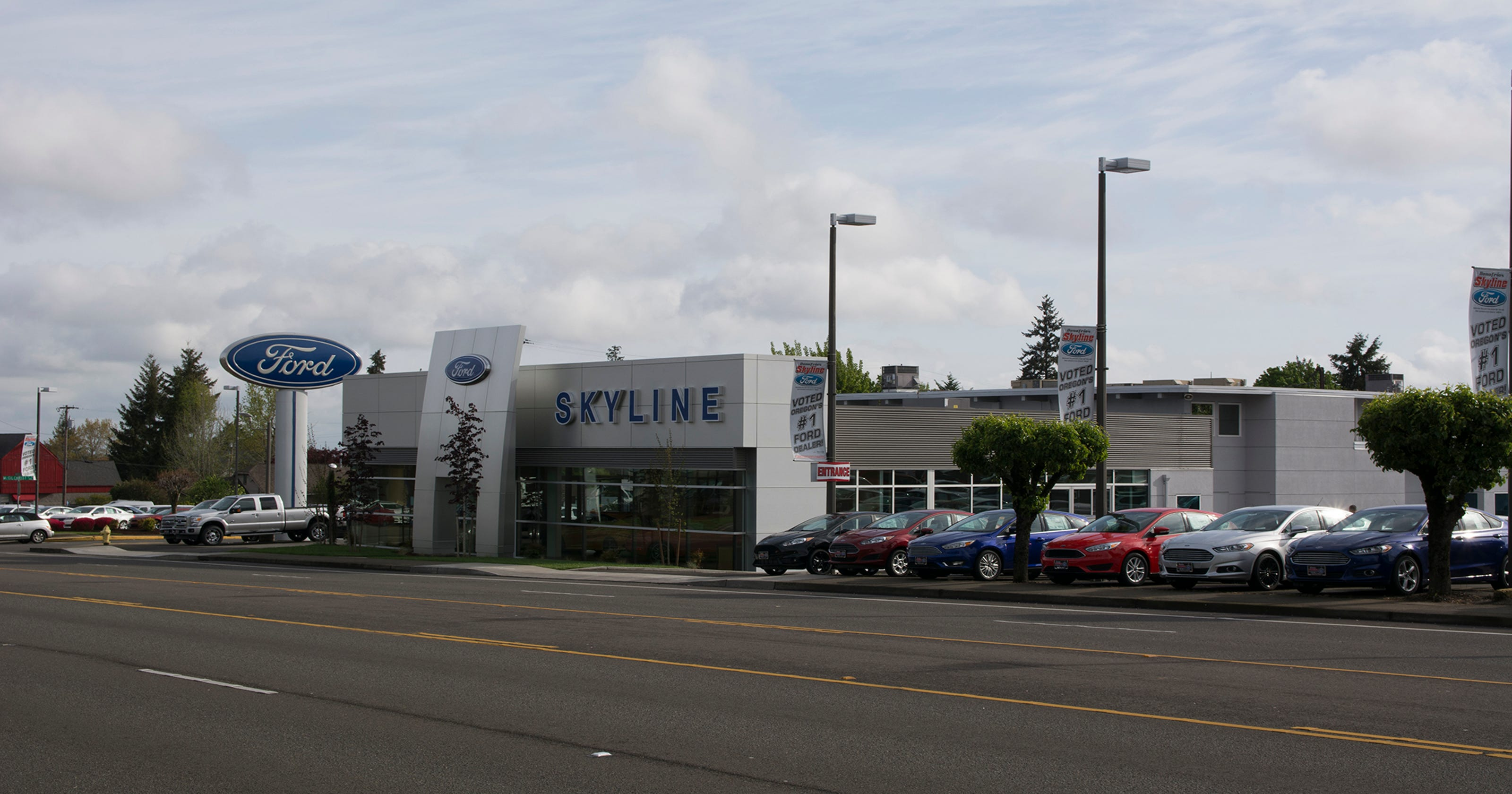 Skyline named best ford dealer in oregon for 4th year