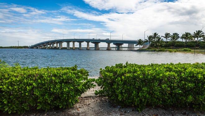 The Judge S.S. Jolley Bridge on Wednesday, Oct. 7, 2015, on Marco Island.