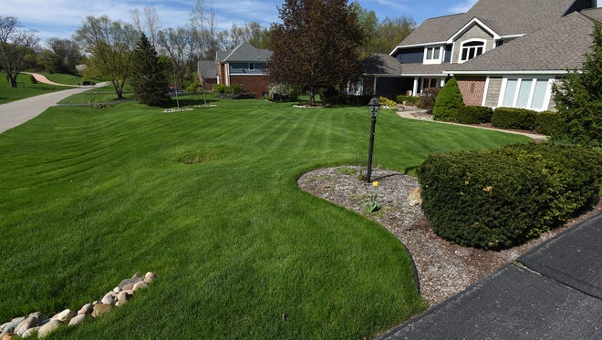 Milford Township's Hidden Valley subdivision has larger lots than the proposed Belle Terre development.