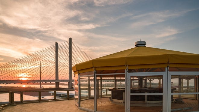 The new Big Chill Beach Club at the Indian River Inlet near Bethany Beach could open as soon as Memorial Day weekend.