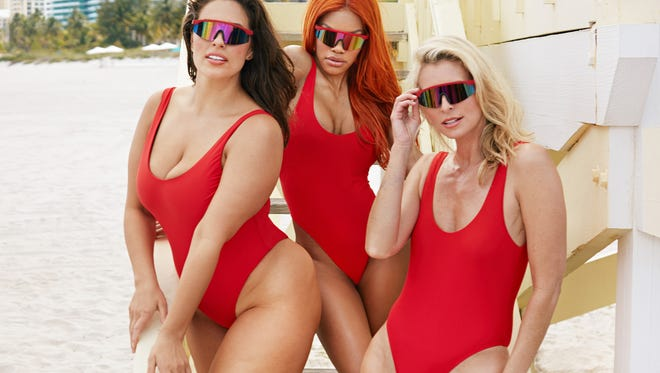 The Baywatch one piece from Swimsuits for All.