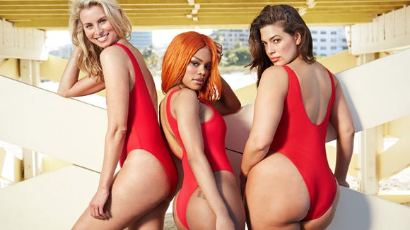 Ashley Graham, Teyana Taylor, and Niki Taylor pose