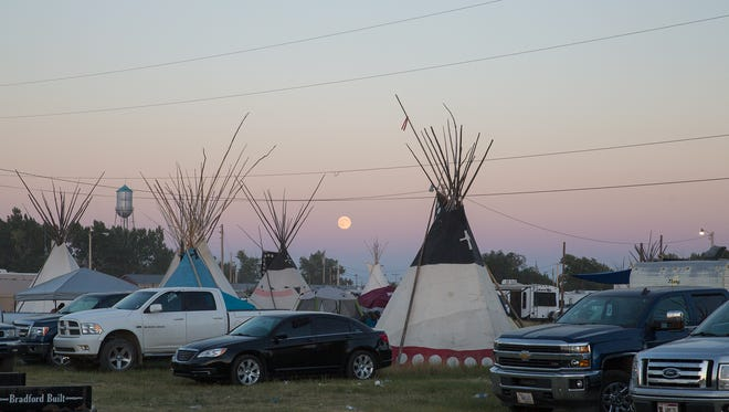 The annual North American Indian Days in Browning, Montana.