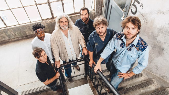 Leftover Salmon is made up of Drew Emmitt, Vince Herman, Greg Garrison, Alwyn Robinson, Andy Thorn and Erik Deustch.