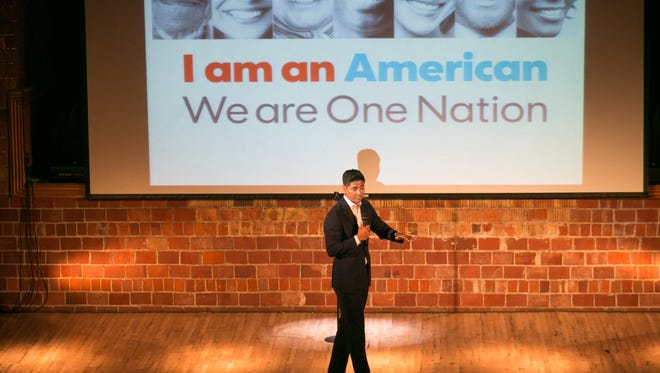 Aftab Pureval speaks about what's in a name, and how people don't know what box to put him in.