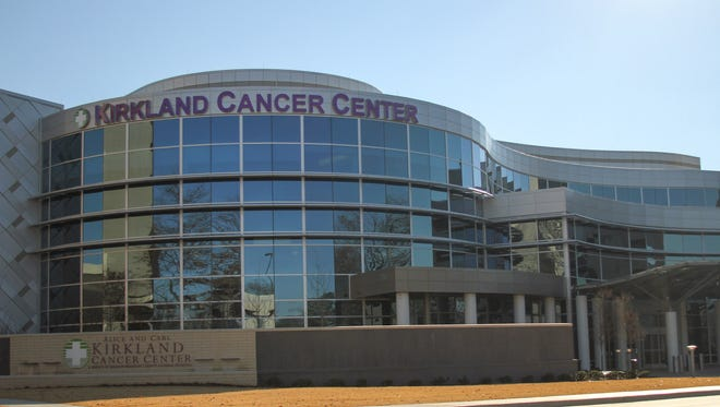 The Alice and Carl Kirkland Cancer Center, a service of Jackson-Madison County General Hospital.