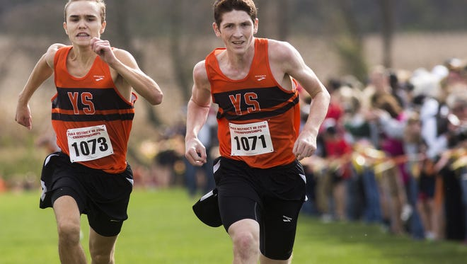 York Suburban brings back most of its runners from a team that went undefeated in Division II, including Jarrett Raudensky (left) and Bryce Ohl.