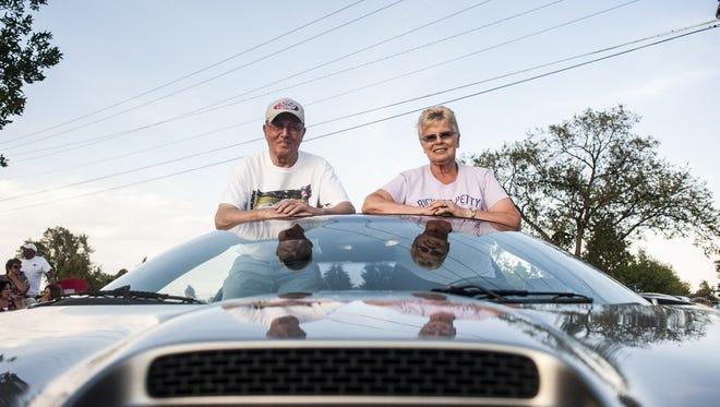 Jon and Raylene Rein raced Raylene's 2001 Chevrolet Camaro Z28 SS during last year's Montana Fun Weekend.